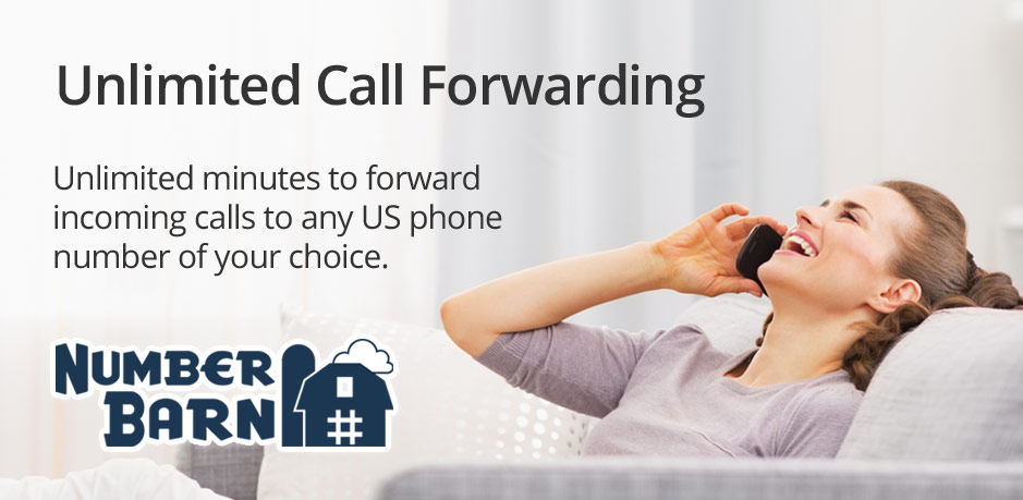 NumberBarn Unlimited Call Forwarding