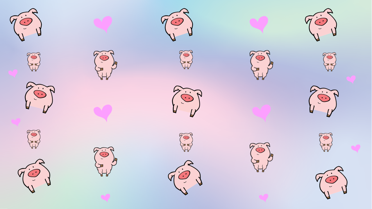 Zoom Virtual Backgrounds Featuring The Pig