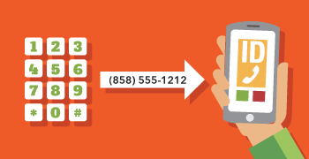 Make calls showing your NumberBarn caller ID