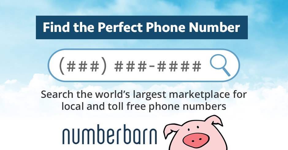 Find A New Local Toll Free Or Premium Vanity Phone Number From Numberbarn